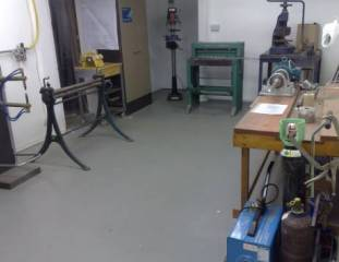 MB Industrial mobile Fabrication workshop